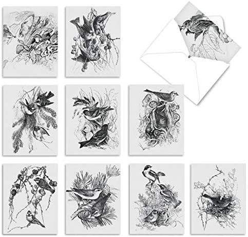 10 Assorted 'Wing Notes' Thank You Cards...