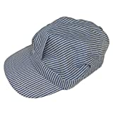 Train Engineer Hat (blue) Party Accessory  (1 count)