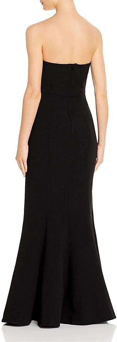 C/Meo Collective Women's Next Step Strapless Long Maxi Trumpet Gown Dress