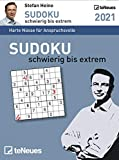 Sudoku schwierig bis extrem 2021 Tagesabreißkalender