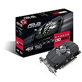 ASUS PH-RX550-4G-M7 Radeon RX 550 4GB GDDR5 - Tarjeta gráfica (Radeon RX 550, 4 GB, GDDR5, 128 bit, 5120 x 2880 Pixeles, PCI Express x16 3.0)