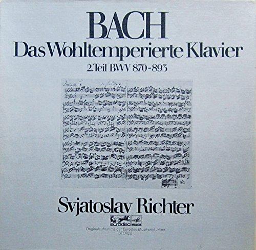 Bach: Das Wohltemperierte Klavier, 2.Teil BWV 870-893 [Vinyl Schallplatte] [3 LP Box-Set]
