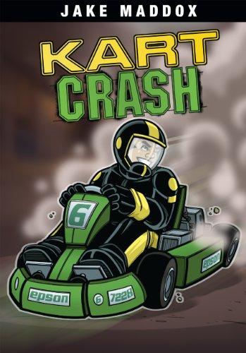 Kart Crash (Jake Maddox Sports Stories) (English Edition)