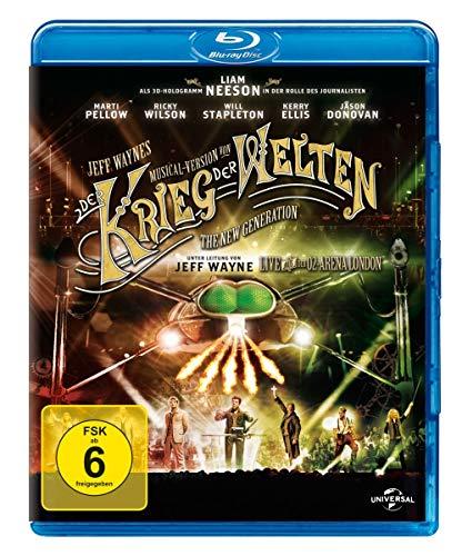 Jeff Wayne's Musical Version von Der Krieg der Welten [Blu-ray] (exklusiv bei Amazon.de)
