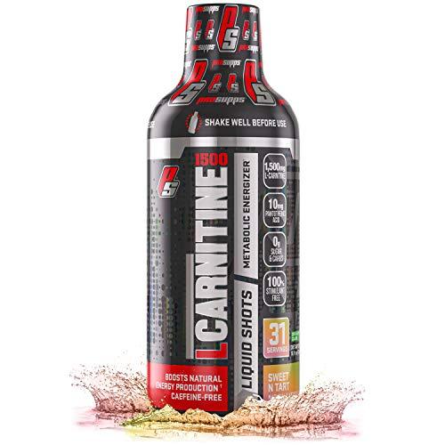 ProSupps® L-Carnitine 1500 Liquid Fat Burner, Stimulant Free Metabolic Enhancer, (31 Servings, Sweet-N-Tart)