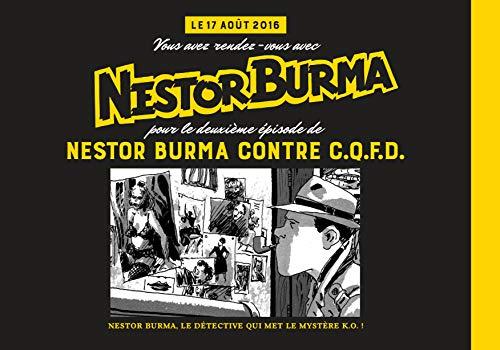 Nestor Burma, N° 1, 15 juin 2016 : Nestor Burma contre C.Q.F.D.
