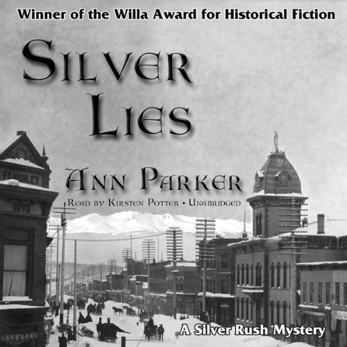 Silver Lies audiobook cover art