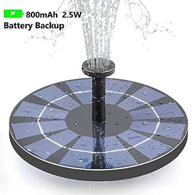 Tranmix Solar Fountain