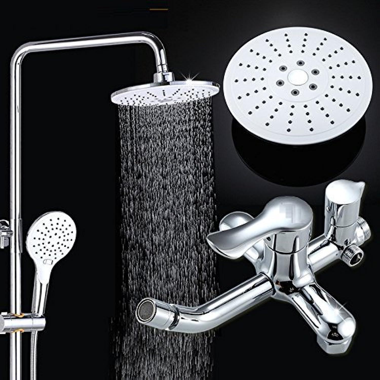 Oudan Faucet Shift Lifter Three-Function Large Shower Copper Faucet, Adjustable Shower (color   -, Size   -)