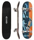 ChromeWheels 78,7 cm Skateboard Double Kick für Kinder