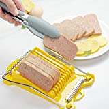 CHICIEVE Stainless Steel Lunch Meat Slicer Multipurpose Egg Ham Banana Fruit Cutter Cutting