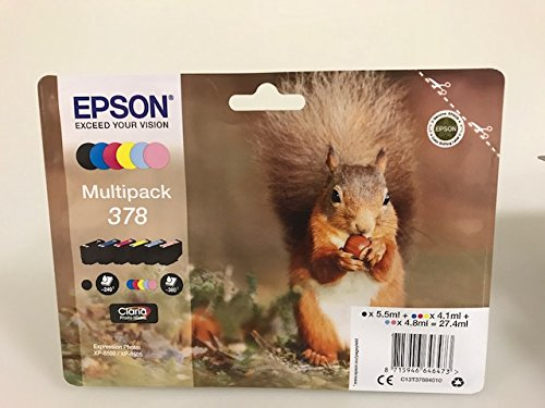 Epson Druckerpatronen für Epson Expression Photo XP-8500 XP-8505 (Multipack)