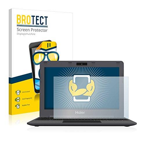 BROTECT Schutzfolie kompatibel mit Haier Chromebook 11 (2 Stück) klare Bildschirmschutz-Folie