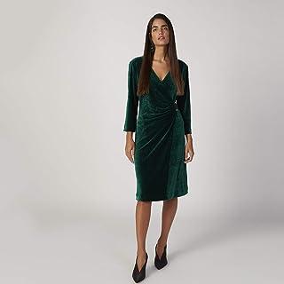 ايكونيك فستان كاجوال للنساء , مقاس