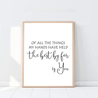 Best for all the things my hands have held sign Reviews