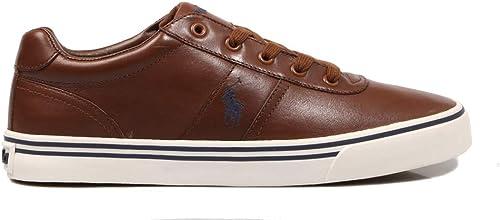 Polo Ralph Lauren, Hanford Leather Tan, Hauszapatos para Hombre, 41