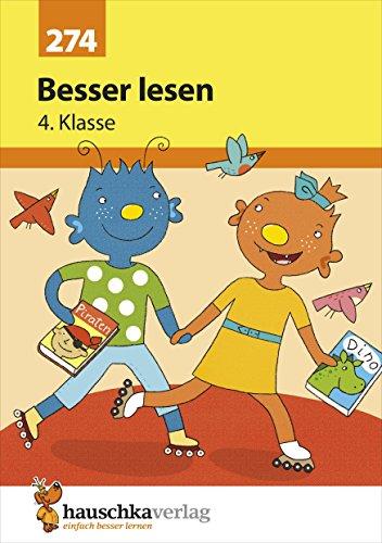 Besser lesen 4. Klasse, A5- Heft (Deutsch: Besser lesen, Band 274)