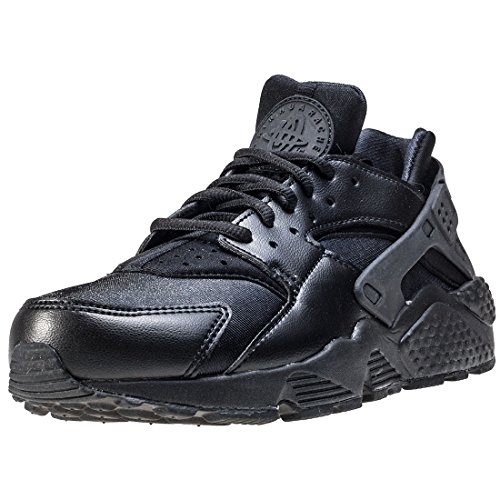 Nike Wmns Air Huarache Run, Women's Sneakers, Black (Black/Black 012), 3.5 UK
