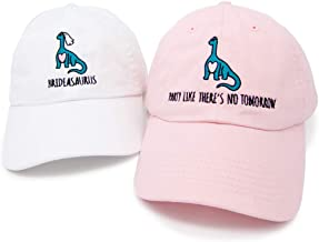 Dinosaur Bride   Brideasaurus Brontosaurus Apatosaurus Bachelorette Party Hats   Bride Tribe Hats