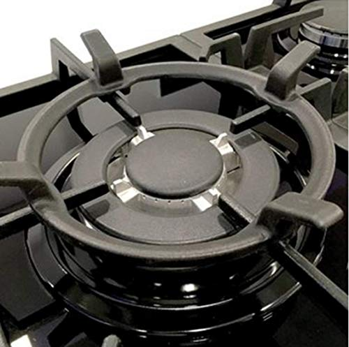 Buy Gas Cooktop Black Cast Iron Stove Rack Trivets Wok Support Ring (A)