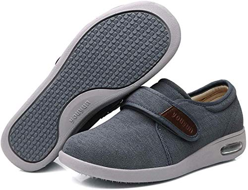 B/H Calzado OrtopéDico Ajustable para Artritis,Zapatos Ligeros con Velcro, Zapatos hinchables para...