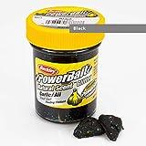 BerkleyPowerbait Natural Scent Trout Bait Glitter Garlic Black