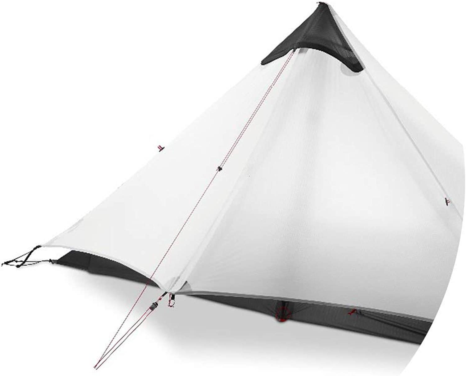 Tent 1 People Outdoor Camping Tent Professional Nylon Silicon Coating Rodless Tent