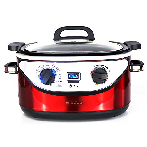 Kitchencook 5.61350WRG Multicooker Cocotte Rosso 1350W