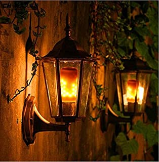 LED Flame Effect Fire E26 Light Bulbs,Creative with Flickering Emulation Lamps,Simulated Nature Fire in Antique Lantern Atmosphere for Holiday Hotel/Bars/Home Decoration Restaurants