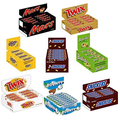 Snickers Sortimentskarton 7+1 gratis 220 Riegel