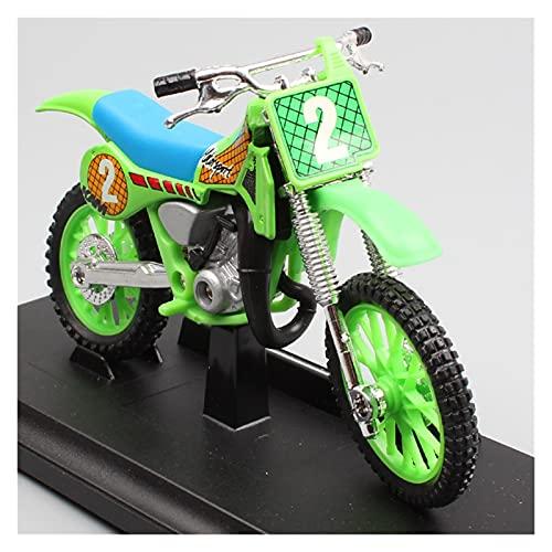 El Maquetas Coche Motocross Fantastico 1:18 para Honda CR250R CR Taiyo RC Edge Modelo De Coche Colección De Juguetes Mini Moto Regalo Expresión De Amor (Color : 3)