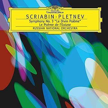 """Scriabin: Symphony No.3 In C Minor, Op.43 """"Le Poème Divin""""; Le Poème de l'Extase, Op.54"""
