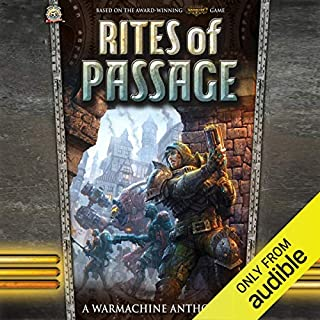 Rites of Passage audiobook cover art