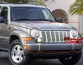 APS Compatible with 2005-2007 Jeep Liberty Main Upper Billet Grille J65496V