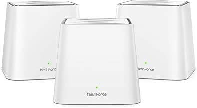 Meshforce Whole Home Mesh WiFi System M3s Suite (Set of 3) – Gigabit Dual Band Wireless..