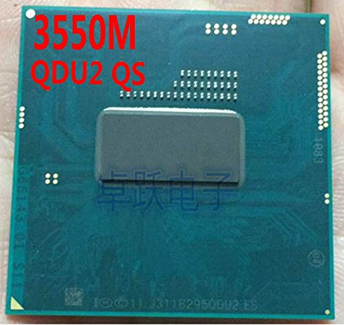 Laptop CPU Haswell 3550M 2M Cache,2.30GHz Dual-core PGA946 QDU2 QS Beta scrattered Pieces