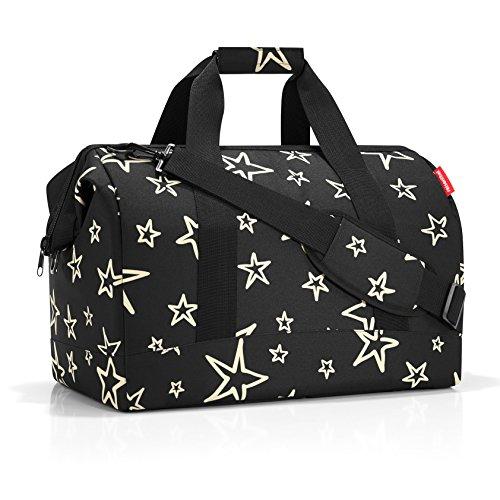 Bolsa de Viaje Allrounder M de Reisenthel, 40 cm, 18 l, Estrellas