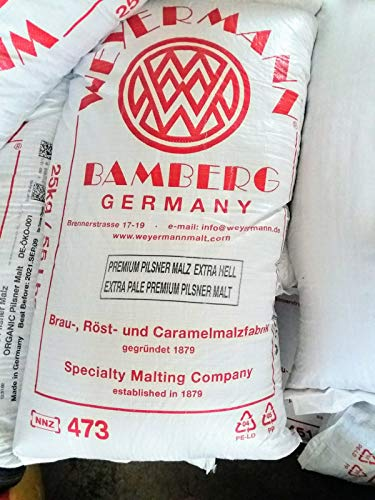 Weyermann Premium Pilsner Malz 25kg, Made in Germany