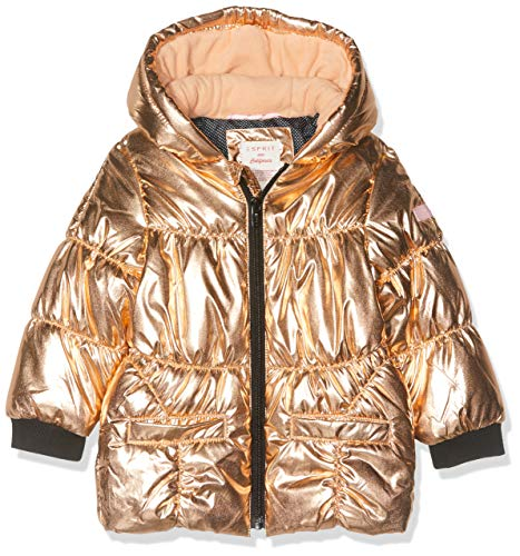 ESPRIT KIDS Baby-Mädchen RP4204109 Outdoor Jacket Jacke, Rosa (Copper Rose 302), (Herstellergröße: 74)