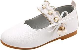 5373f9ad9b355 ELECTRI Fille Butterfly Chaussures Princesse BéBé Filles Pendentif Perle  Bow Sandales Enfants Casual dans Mariage Chaussures