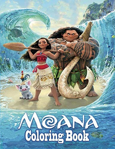 Moana Coloring Book🌊