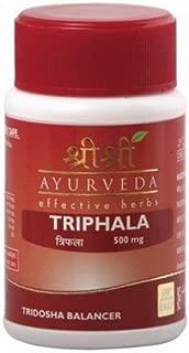 SRI SRI AYURVEDA Triphala Natural Herbal 60Tab Homeopathic Treatment