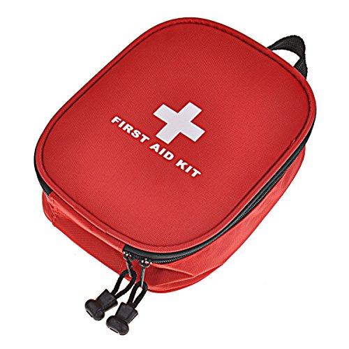 Dewel Botiquín de Primeros Auxilios Bolso de Primeros Auxilios de Emergencia de Supervivencia para Coche, Hogar, Camping, Caza, Viajes, Aire Libre o Deportes