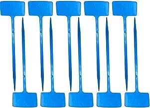 Plant Labels Boomkwekerij Lange T-Type Waterdichte Tuinieren Tags Blue 10st Plant label