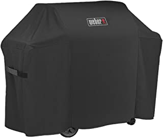 Weber7130 Grill Cover for Weber Genesis II 3 Burner Grill and Genesis 300 Series Gas Grills (58 X 25 X 45 inches)