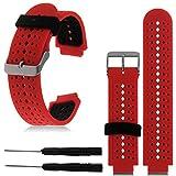 invella Replacement Strap for Garmiin Forerunner 220/230/235/620/630 -Red (No Tracker)