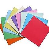 Demarkt–100Hojas Origami Papel faltpapier Infantil Folding Paper