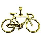 Souvenirs de France-Colgante para bicicleta de carreras, material: completo plata, oro o chapados en oro de 18 quilates completo