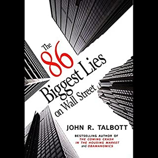 The 86 Biggest Lies on Wall Street  audiobook cover art