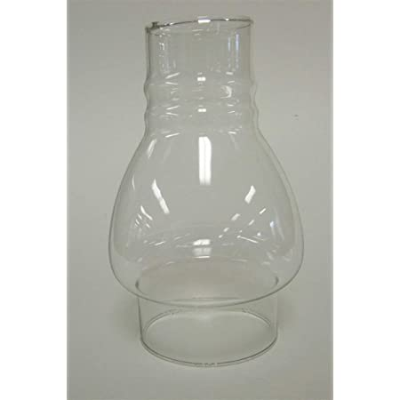 Clear Oil Lamp Chimney 2 3//8 x 7 1//2
